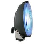 Фара дальнього світла Ø 183 мм Wesem HOS2.38810 з габаритом LED RING блакитна, фото 7