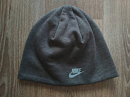 Шапка Nike (темно-серая) реплика