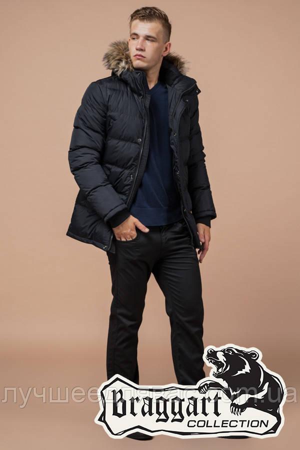 Куртка Зимняя Braggart 24712Т графит, фото 1