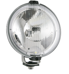 Фара дальнього світла Ø 183 мм Wesem HOS2.38800 галогенна з габаритом LED 12V RING