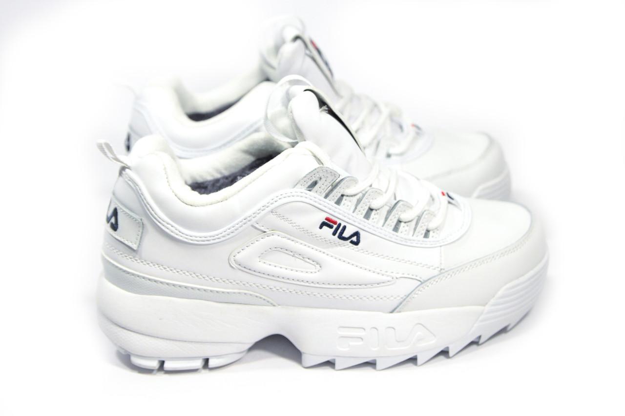 Зимние кроссовки (НА МЕХУ) женские FILA (реплика) 10-123  продажа ... 8bda7c5cb620d