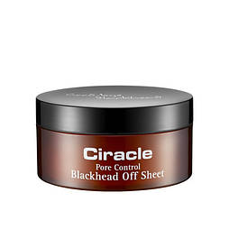 Салфетки для удаления черных точек CIRACLE PORE CONTROL BLACK HEAD OFF SHEET, 35шт.