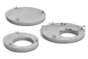 Железобетонные плиты перекрытия колец