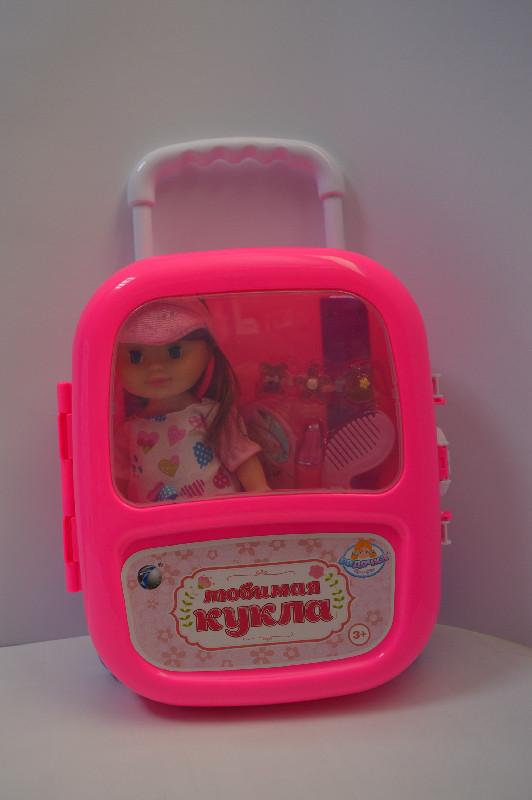 "Кукла в чемодане ""Любимая кукла"" 8809-4-6"