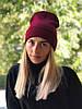 """Стильная женская шапка """" New York """" Yulia"""