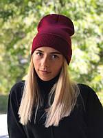 """Стильная женская шапка """" New York """" Yulia, фото 1"""
