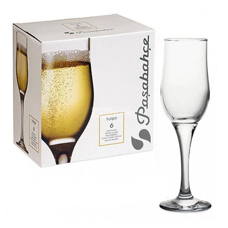 Набор фужеров для шампанского 190мл. Pasabahce Tulipe 44160