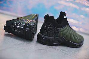 "Кроссовки Nike Lab Air Max Plus Slip ""Green/Black"" (Зеленые/Черные), фото 2"