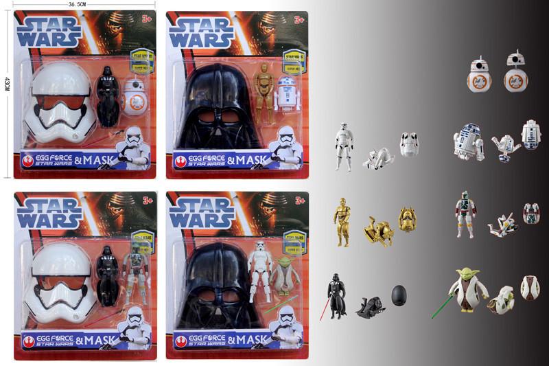 Игрушка для мальчика Трансформер с маской Star Wars 33073D 4 вида