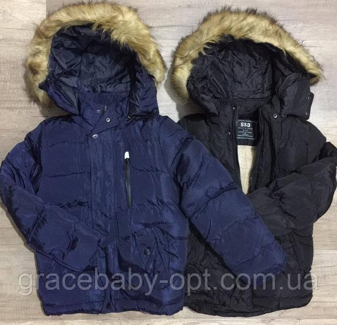 Куртка утепленная для мальчиков оптом 8c5715d8b9c50