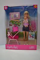 Кукла типа барби с ребенком