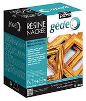Ювелирная эпоксидная смола (Золото)Pebeo Crystal Resin(Франция) для декора,украшений.Кристал Резин (150 мл)