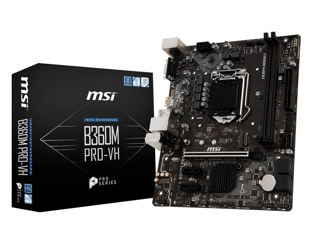 Материнская плата MSI B360M PRO-VH Socket 1151
