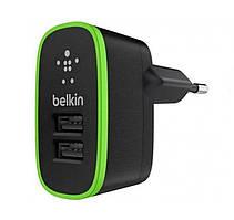Сетевое зарядное устройство Belkin USB Home Charger black