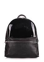 Рюкзак женский кожаный POOLPARTY mini-bckpck-transparent