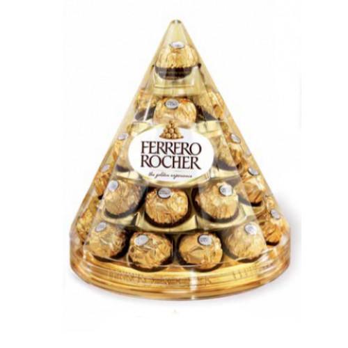 Конфеты Ферреро Роше / Ferrero Roche Т28*3 Конус 350г