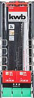 Набор сабельных полотен 3 шт. kwb