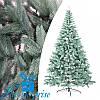 Искусственная новогодняя литая голубая ель БУКОВЕЛЬСКАЯ 250 см