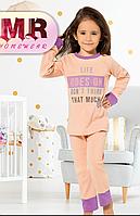 Пижама для девочек ( интерлок). 1- 3 года