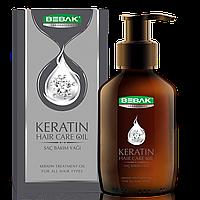 Кератиновое масло для сухих и поврежденных волос BEBAK, 100 мл