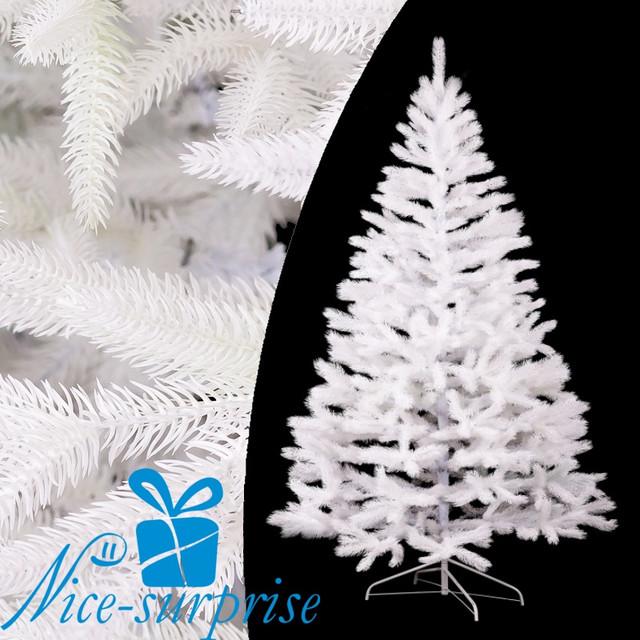 купить новогоднюю литую белую ель в Киеве
