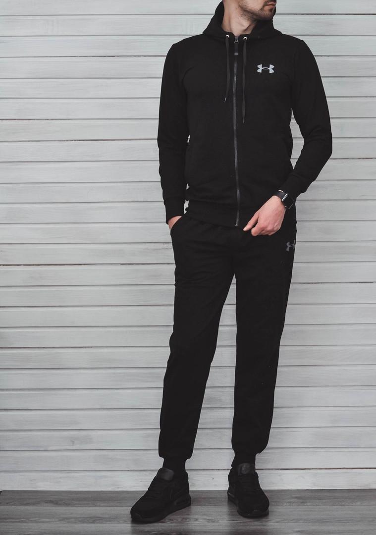 Спортивный костюм Under Armor черный топ реплика