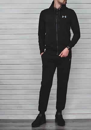 Спортивный костюм Under Armor черный топ реплика, фото 2