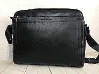 Мужская сумка-портфель для документов David Jones. Мужская классическая сумка. Качественная сумка.