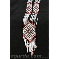 Этнический женский гердан с геометрическим узором