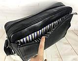 Мужская сумка-портфель для документов David Jones. Мужская классическая сумка. Качественная сумка., фото 4