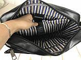 Мужская сумка-портфель для документов David Jones. Мужская классическая сумка. Качественная сумка., фото 5