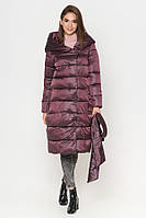 Куртка женская 8889T баклажан, фото 1