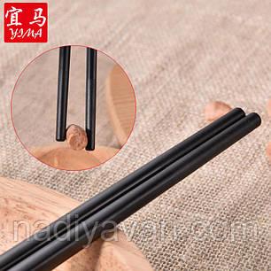 Палочки для еды, керамика многоразовые 24см, фото 2