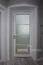 Остекленные межкомнатные двери
