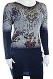 Женская оригинальная туника с рисунком, фото 2