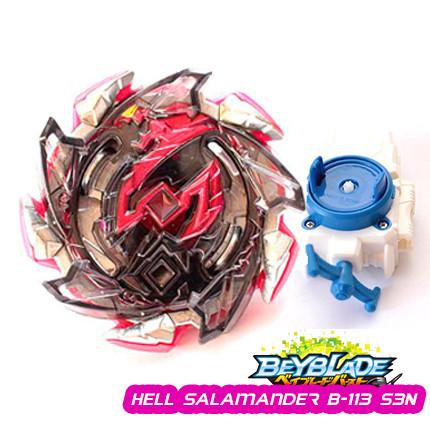 Волчок Бейблэйд Адская Саламандра 4 сезон, Beyblade Hell Salamander B-113 S3N