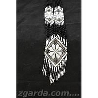 Универсальный женский гердан в черно-белом цвете