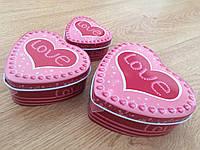 Набор подарочных коробок Сердце Сердечная любовь ( подарочные коробочки сердечком )