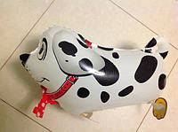 "17BS07002-8 Шар  ""Собачка на ножках белая"" 60см (AH-W002)"