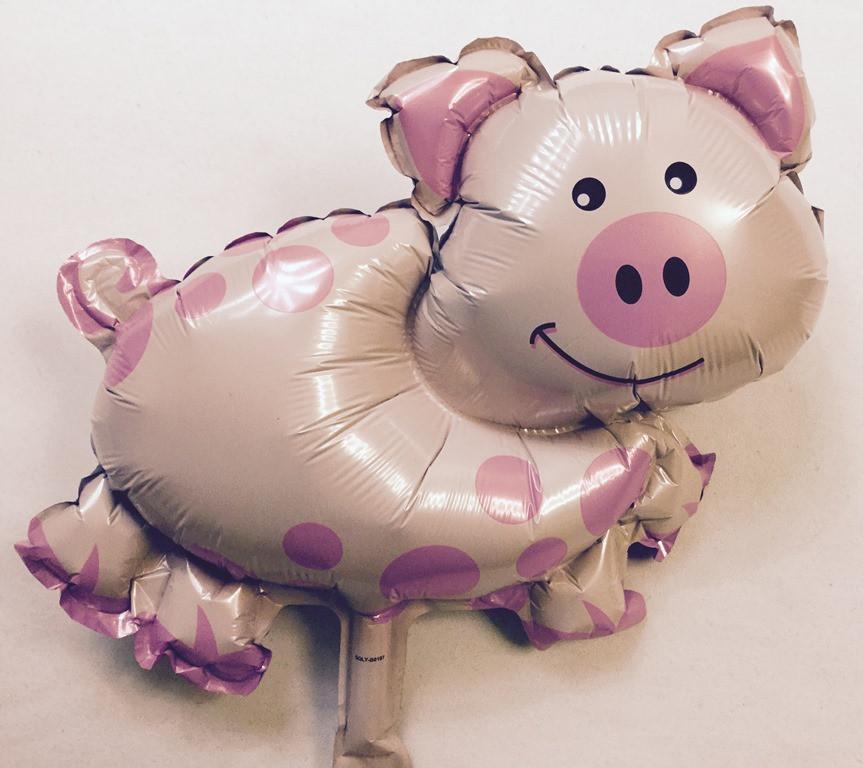 Фольгированный шар Свинка (В0197)