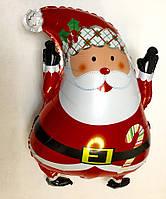 Фольгированный шар Дед Мороз (Санта Клаус)