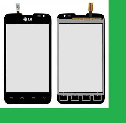 LG D285, L65 Dual Тачскрин (сенсор) черный, фото 2