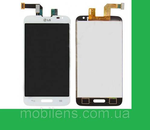 LG D320, MS323,D321,Optimus L70 Дисплей+тачскрин(сенсор) белый, фото 2