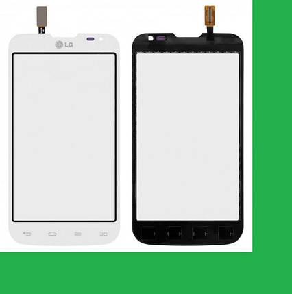 LG D325, D325f,L70 Optimus Dual Тачскрин (сенсор) белый, фото 2