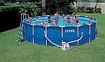Как правильно заклеить каркасный бассейн?