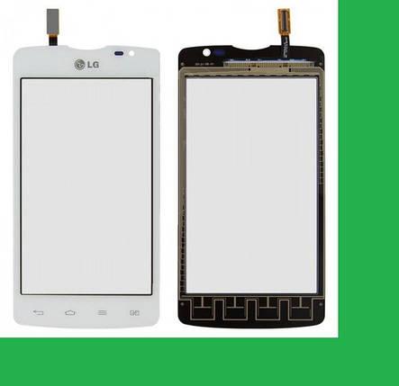 LG D380, L80 Тачскрин (сенсор) белый, фото 2