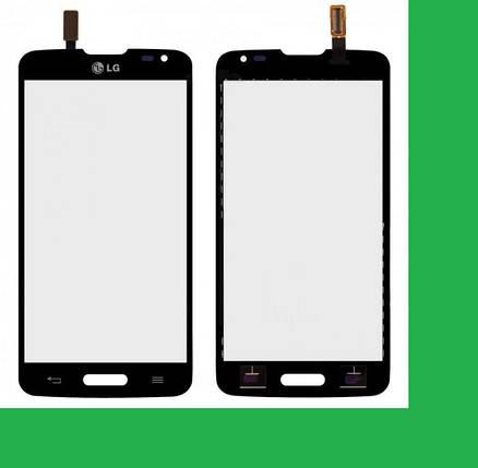LG D405, D415,LG L90 Тачскрин (сенсор) черный, фото 2