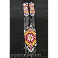 Женский гердан с красивым цветным орнаментом