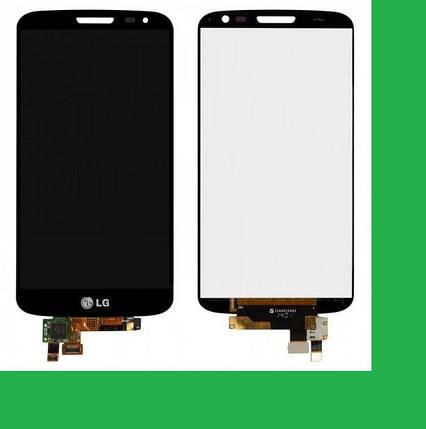 LG D620, D618, LG G2 mini Дисплей+тачскрин(сенсор) черный, фото 2
