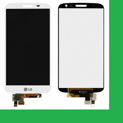 LG D620, D618, LG G2 mini Дисплей+тачскрин(сенсор) белый, фото 2